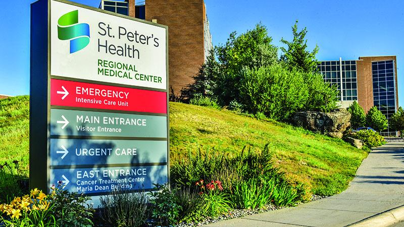 SPH Regional Medical Center Entrance Sign